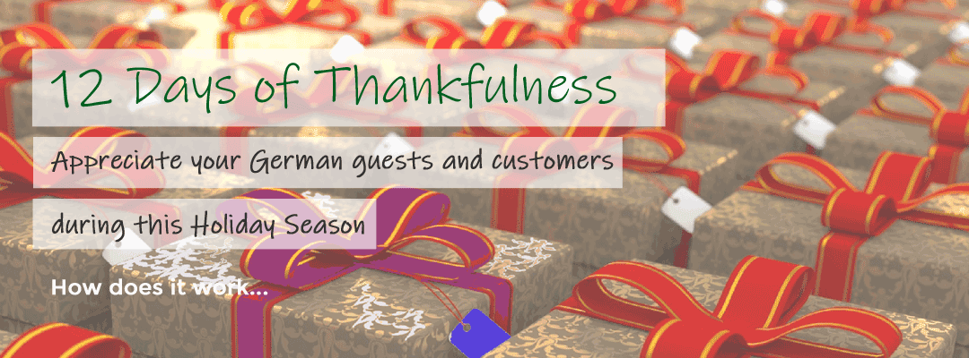 Join in with 12 Days of Thankfulness