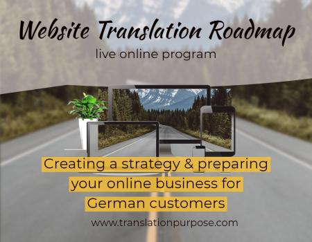 German Website Translation Roadmap